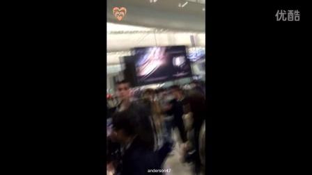 160122Girls Day-敏雅minah香港机场