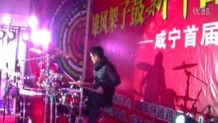 任汉丁老师《Chicken》——咸宁雄风架子鼓培训中心新年音乐会