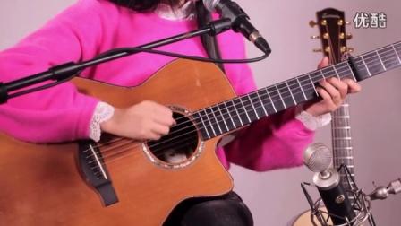 吉他弹唱 吉他教学 山林吉他 李荣浩 李白 吉他教学入门 吉他教程 美女吉他