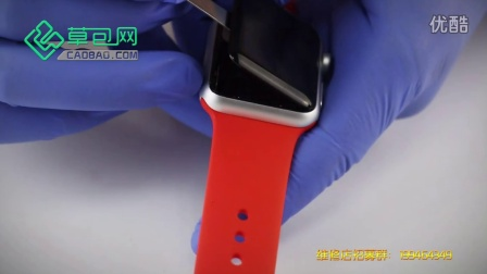 苹果手表拆机更换电池 Apple Watch