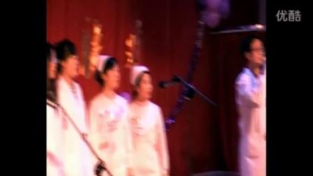 """小合唱:期待明天会更好  碾子山区""""松鹤为老服务中心""""春节联欢会"""