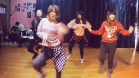 沈阳BRY街舞工作室-假期提高班momo老师