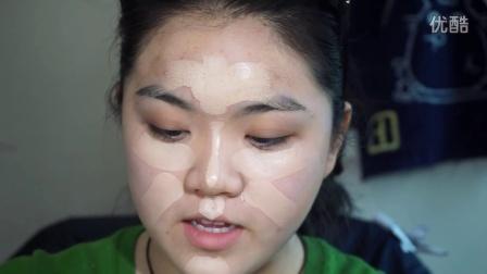 [UgU]每日自然小脸底妆~~ makeup forever ultra HD  粉条使用分享~~