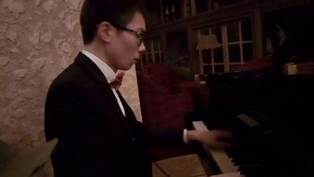 夜的钢琴曲五(三角钢琴)_tan8.com