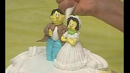双层蛋糕裱花│王森蛋糕裱花视频│李文超裱花蛋糕_标清