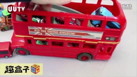 爱不释手 英国双层巴士模型
