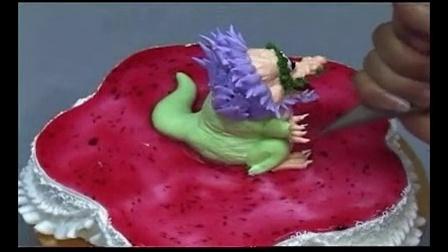 蛋糕裱花│生日蛋糕裱花视频│欧式蛋糕裱花视频_标清