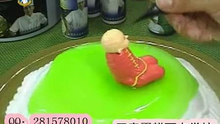 王森蛋糕之人物卡通蛋糕制作6_标清