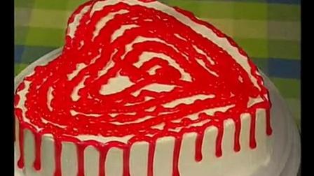 现场裱花蛋糕│蛋糕裱花基本视频│生日蛋糕的裱花制作_标清