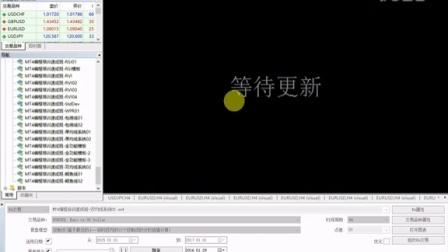 MT4智能交易编程视频教程-第28课-EA参数及优化QQ973201383