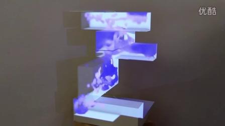 纽约数字设计师打造可隔空操控的反重力喷泉