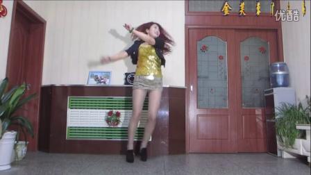 金芙蓉广场舞【在叫一声亲爱的】附背面演示