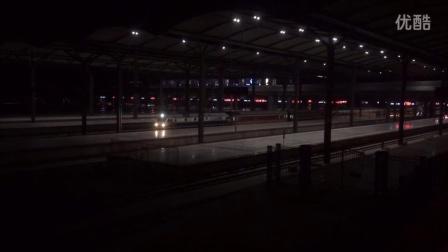客车快7704(石家庄北-承德)天西普速场22道发车