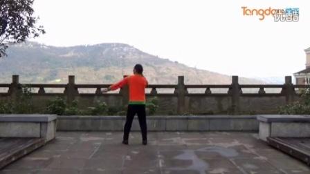 春节推荐 fenghuang六哥广场舞《山地多情花》含背面分解教学_广场舞视频在线观看 - 280广场