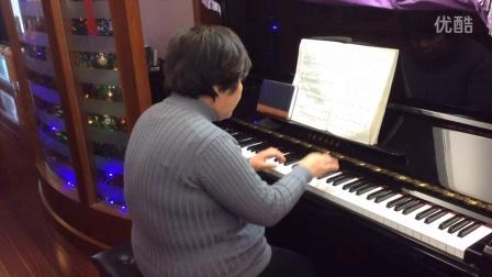 虹口老年大学钢琴班学员蒋映华女士弹奏 老年趣味钢琴曲《多瑙河之波》