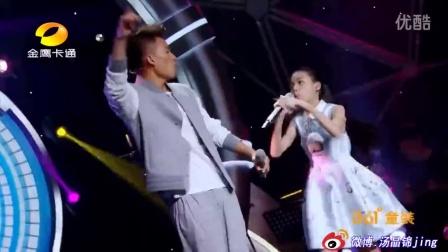 11岁小女孩汤晶锦和欧豪合作《Bad boy》千面娇娃爆发力燃屏