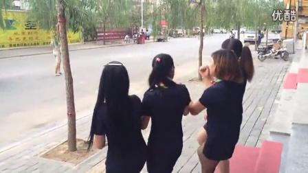 【彝族美女】文安彝族金足园打跳