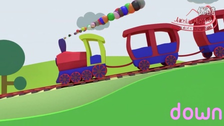 ▶ Opposites Trains - Learning for Kids