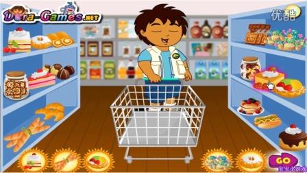 ★爱探险的朵拉历险记★迭戈购物★朵拉历险记动画片中文版 国语版高清