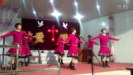 利辛县胡集教会唱诗班-今天今天最好的消息