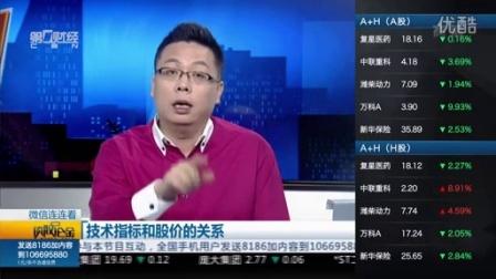 谈股论金160201技术指标和股价关系