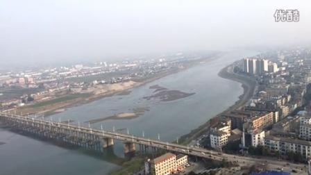 站在松滋最高处,延时拍摄松滋大桥