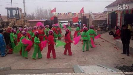 内蒙古赤峰市松山区哈拉道口镇郎君哈拉六七队秧歌队 (2)