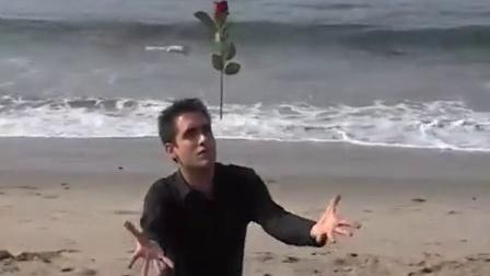 Magic On The Beach- Rose Through Fire Levitation
