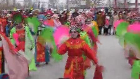 张掖市甘州区花寨乡柏杨树村传统社火 2