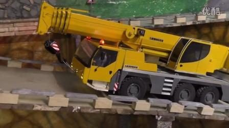 【RC模型建筑工地】利勃海尔LTM1055全地面起重机行驶