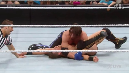 RAW 2/15: AJ Styles vs. The Miz