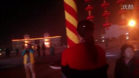 2016春节赣州黄金广场口琴表演 如果没有你、千与