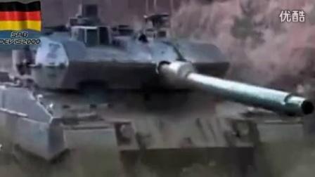 德国豹2主战坦克霸气宣传片