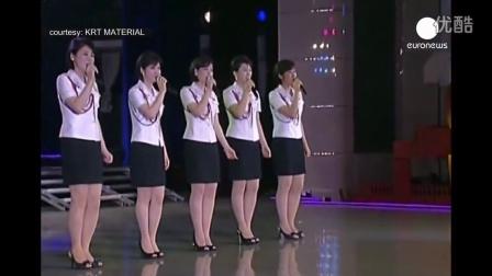 金正恩夫妇出席朝鲜火箭发射庆典