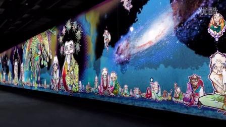「村上隆の五百羅漢図展」制作影像