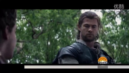【ChrisHemsworth吧】Get A Sneak Peek Behind The Scenes Of 'The Huntsman' - TODAY
