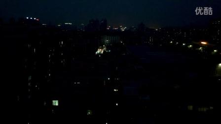 落日(延迟摄影)