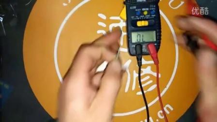 空调维修视频教程二极管测量