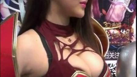 2014上海ChinaJoy性感美女模特46