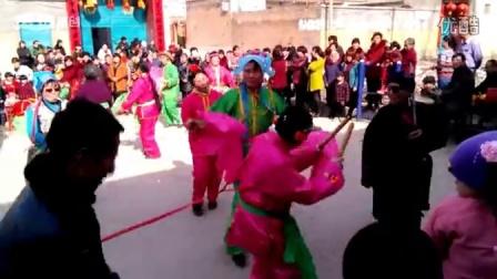 隆尧县霍庄村秧歌表演