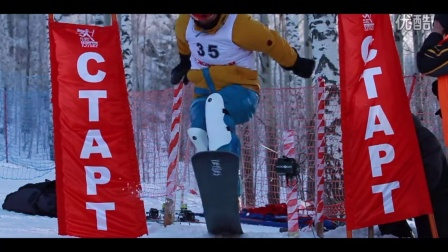 Lock, Stock and Two Alpine Snowboards (Russian Extreme Slalom)
