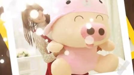 包邮特价麦兜猪龙猫熊猫黄人公仔女生玩偶布娃娃毛绒玩具生日礼物