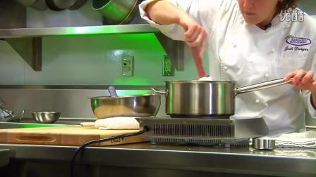 北德克萨斯大学厨艺课系列-制作法式香草奶油酱