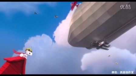 动画片《史努比:花生大电影》正片 作家史努比