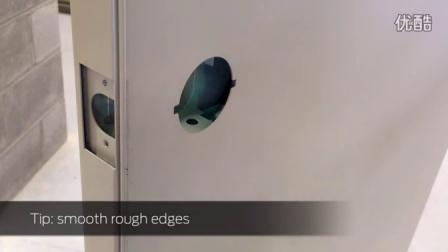 【Installation】Falcon W-Series Small Rose Lock