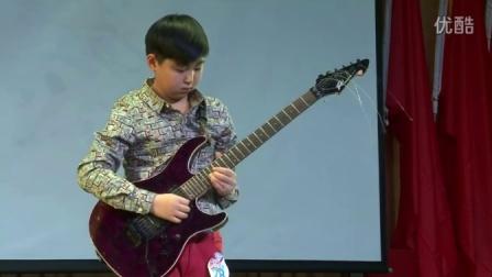 成长之路-乐器-《中国梦少年梦》选手电吉他技巧展示