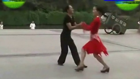 广场舞 交谊舞 三步踩 月亮之上