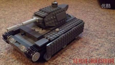 [乐高 坦克合集]玩坦克大战Lego panzer tank battle