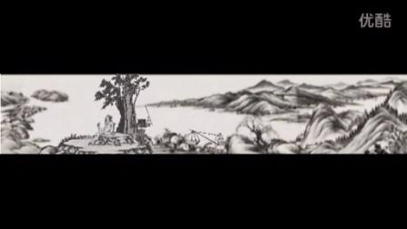 古代名画长卷加品茶图