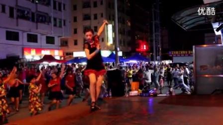 优酷青青世界2016广场舞《大街小巷都听我的歌》最新广场舞教学健身舞 瘦身操减肥操健美操